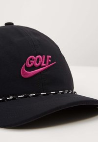 Nike Golf - AROBILL ROPE UNISEX - Kšiltovka - black/anthracite/vivid purple - 4