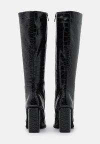 RAID - CELENI - Kozačky na vysokém podpatku - black - 3