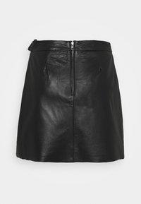 Object - OBJMIMI L SKIRT - Mini skirt - black - 1