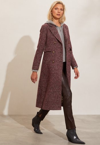SELENA - Classic coat - pink multi