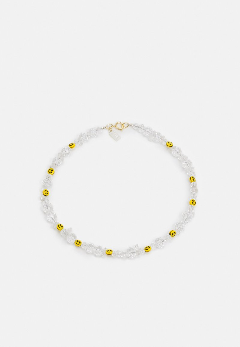 WALD - SMILIE DUDE NECKLACE - Collier - white