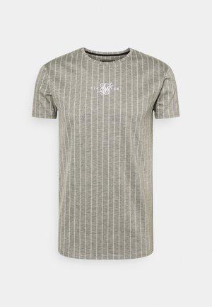 RAGLAN TECH TAPE TEE - T-shirt con stampa - grey