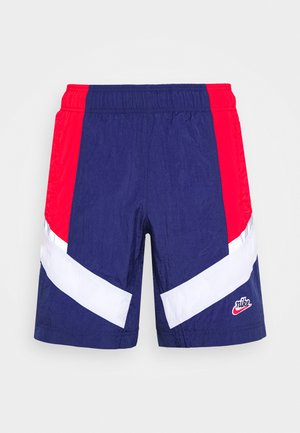 Shorts - midnight navy/university red/white