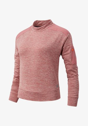 HEAT GRID LONG SLEEVE - Langarmshirt - off road heather