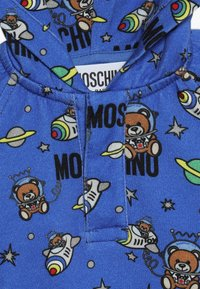 MOSCHINO - HOODED - Kapuzenpullover - bluette toy space - 2