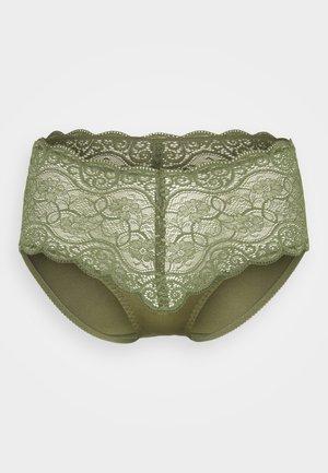 AMOURETTE MAXI - Pants - sage green
