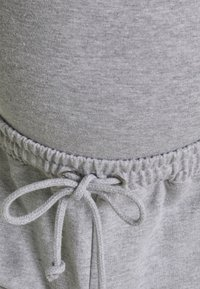 Missguided Maternity - MATERNITY BASIC JOGGER 2 PACK - Tracksuit bottoms - grey marl/burgundy - 4