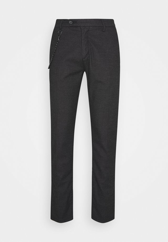 PANTS SLIM KERR - Bukser - black