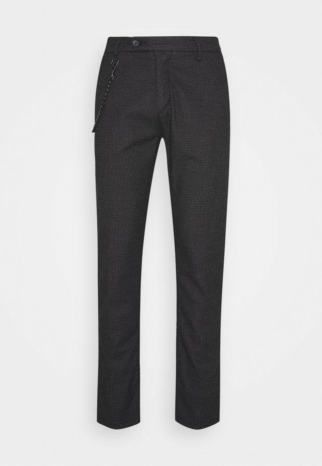 PANTS SLIM KERR - Trousers - black
