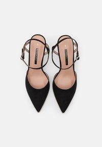 Dorothy Perkins - ELFIE TWO PART METAL RAND POINT COURT - High heels - black - 5