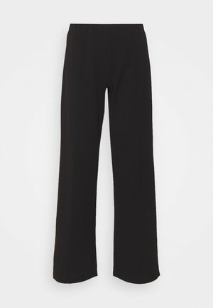 JDYBLACKBURN WIDE PANT - Bukse - black