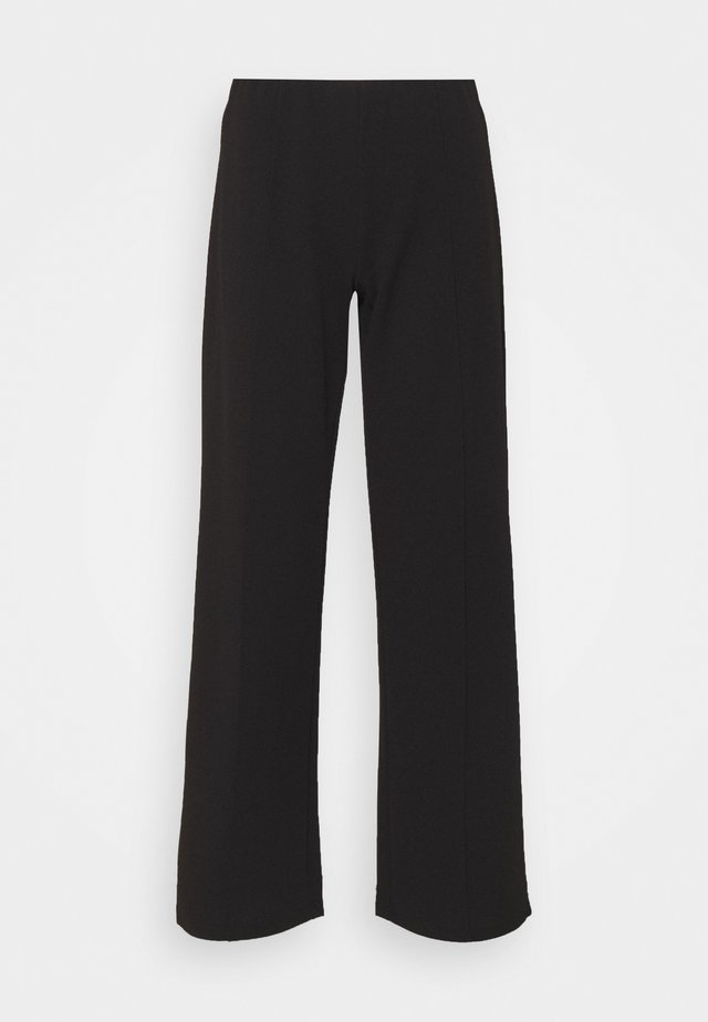 JDYBLACKBURN WIDE PANT - Bukser - black