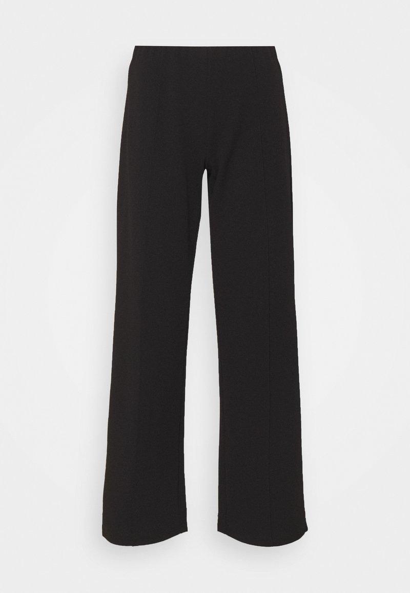 JDY - JDYBLACKBURN WIDE PANT - Trousers - black