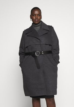 COAT MAGNUM - Classic coat - charcoal