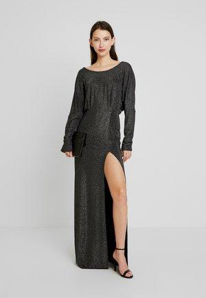 TWISTED BACK GOWN - Společenské šaty - black