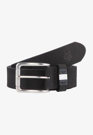 MARTIN GÜRTEL LEDER - Belt business - black