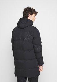 PARELLEX - LUNAR LONGLINE JACKET - Zimní kabát - black - 3