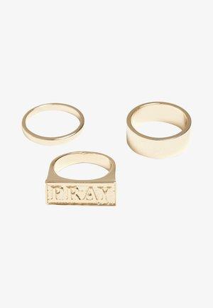 PRAY SET - Ring - gold