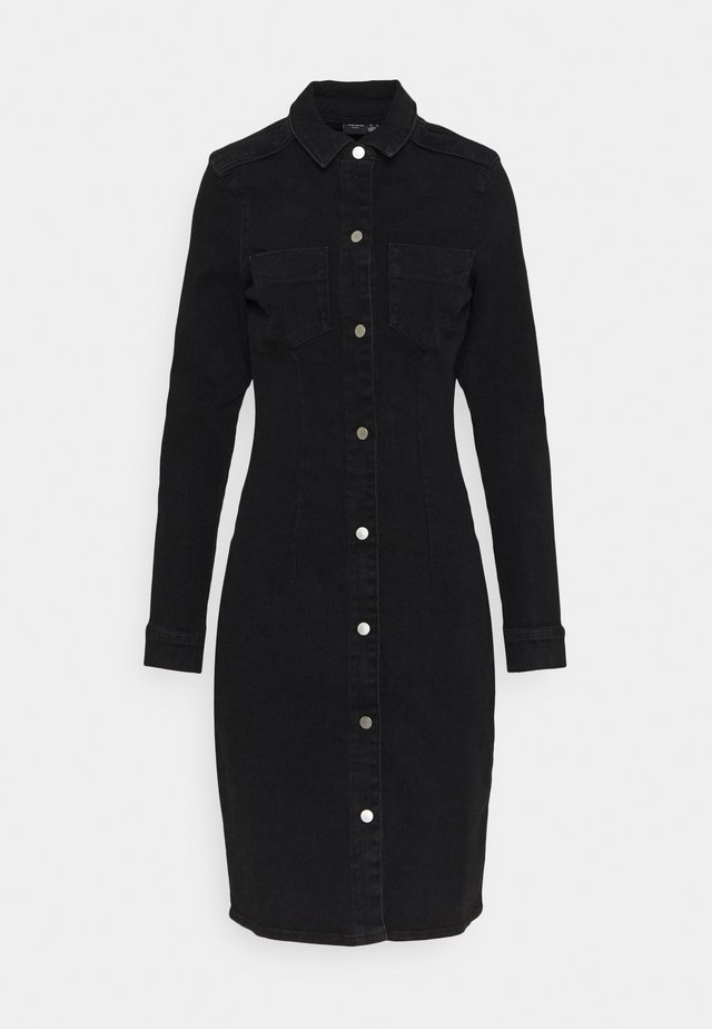 VMGRACE SLIM BUT DRESS - Sukienka jeansowa - black