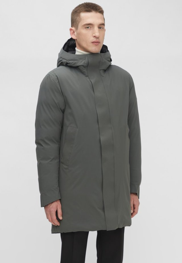 ACTIVE DOWN - Parka - dk green/silver