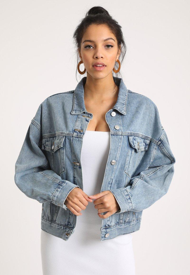 Pimkie - Jeansjacke - ausgewaschenes blau