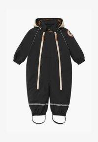 Mini Rodini - BABY ALASKA PANDA UNISEX - Snowsuit - black - 0