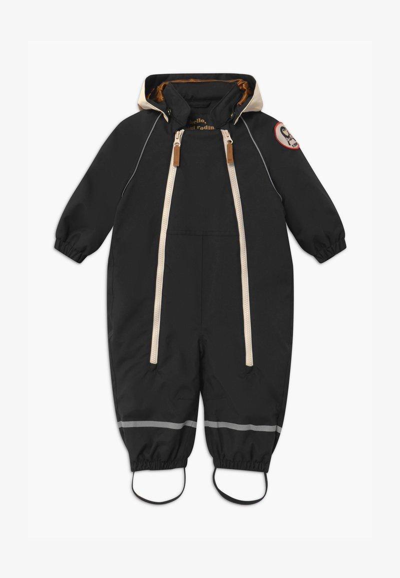 Mini Rodini - BABY ALASKA PANDA UNISEX - Snowsuit - black