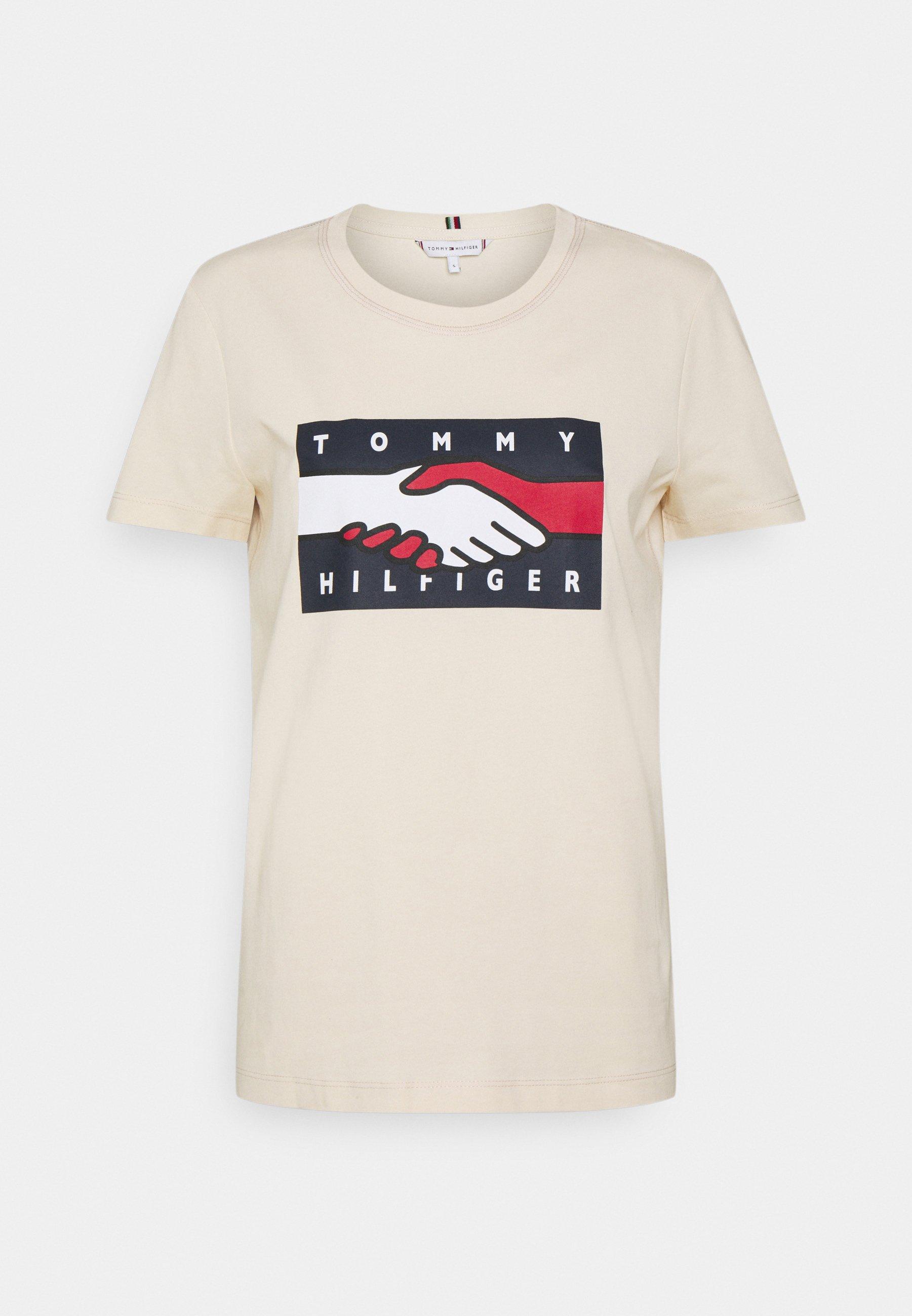 Damen EARTH DAY FLAG TEE - T-Shirt print