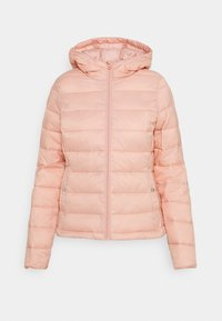 ONLY - ONLSANDIE QUILTED HOOD JACKET - Light jacket - misty rose - 5