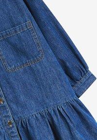 Next - Shirt dress - blue denim - 2