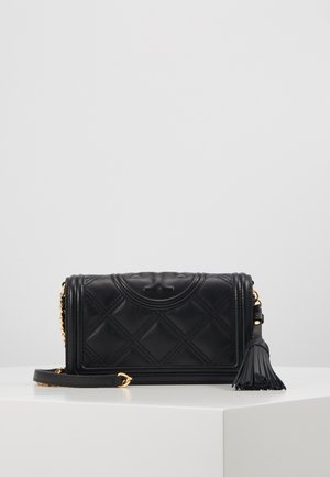 FLEMING SOFT WALLET CROSSBODY - Bandolera - black