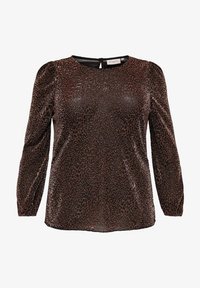 ONLY Carmakoma - Long sleeved top - black - 4