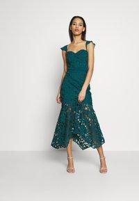 Chi Chi London - LUPITA DRESS - Suknia balowa - teal - 1