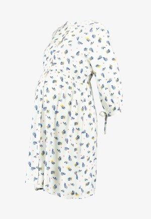 DRESS NURS 3/4 - Shirt dress - offwhite