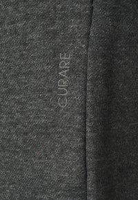 Curare Yogawear - SHORTS - Korte broeken - darkgrey melange - 2
