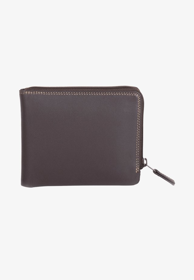 ZIP AROUND - Wallet - brown