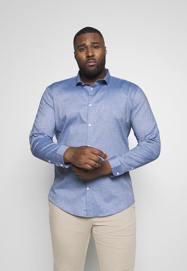 Koszula biznesowa - mid blue mel