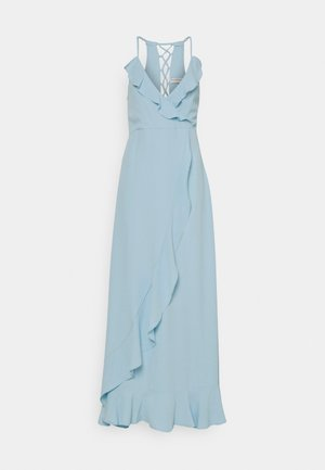 EXCLUSIVE DRESS - Vestido de fiesta - light blue