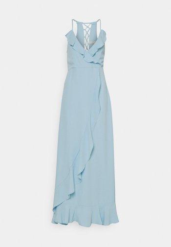 EXCLUSIVE DRESS - Vestido de fiesta - light blue