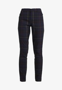 Gap Tall - ANKLE BISTRETCH - Kalhoty - grid plaid - 4