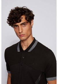 BOSS - PAULE - Polo shirt - black - 3