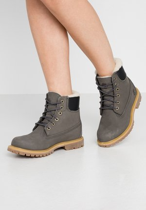 6IN PREMIUM  - Bottines à lacets - dark grey