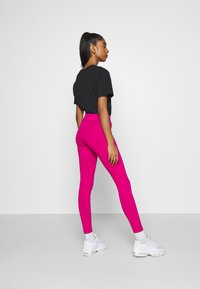 Nike Sportswear - Leggings - Trousers - fireberry/white - 2
