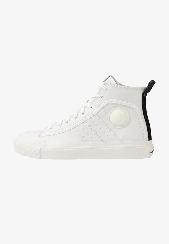 S-ASTICO MID LACE - Sneakers hoog - star white