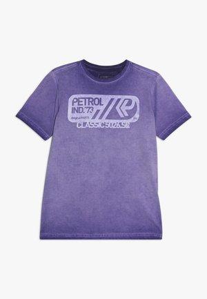 Print T-shirt - dark grape