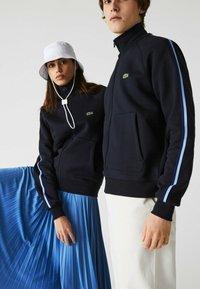 Lacoste - Zip-up sweatshirt - navy blau - 2