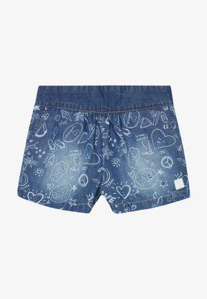 MARTIN - Denim shorts - vaquero