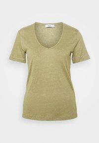 WOMENS DELETION LIST - Basic T-shirt - green bark