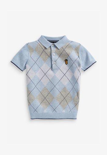 ARGYLE  - Koszulka polo - blue