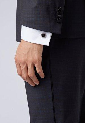 SIMONY MIT RUNDEM VERSCHLUSS - Cufflinks - white